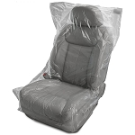 Premium Plastic Seat Covers .7mil Disposable