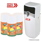 Automatic Air Freshener Dispenser with 3 Refills