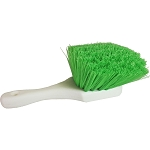 Short Handle Green Wheel Brush