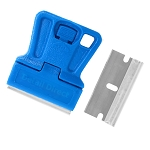 Mini Razor Blade Scraper With One Steel Razor Blade