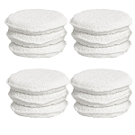 5in Round Cotton Pad for Even and Smooth Wax Application