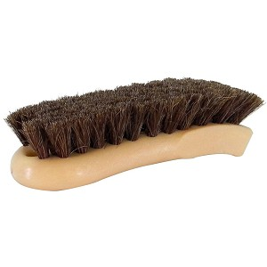 Soft Horsehair Leather Cleaning Brush