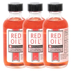 3 pack 2 oz Red Oil Healing Solution